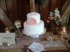 Rustic Wedding Small Wedding Cake