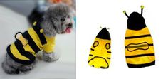 Cute Bumble Bee Hoodie for Your Cat or Dog