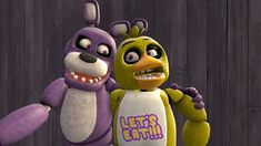 FNAF Bonnie and Chica by TerezaDiablo84.deviantart.com on @DeviantArt