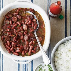 John's Red Beans and Rice are a favorite comfort food served throughout Louisiana. Be sure to cook this one-dish meal the entire time to...