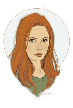 Amy Pond, by Phil Noto. Too pretty to resist adding to my collection.