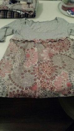 Zelfgemaakte t shirt