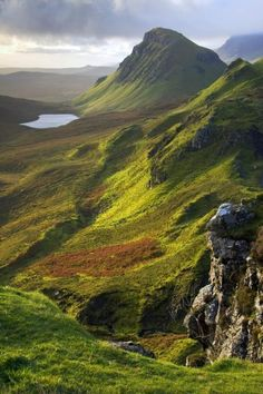 The Trotternish Hills From The Quiraing Isle Of Skye Canvas Print / Canvas Art…