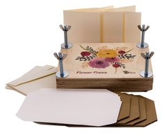 Flower Press Deluxe Wooden Kit Best Quality by TimeToCreateCrafts