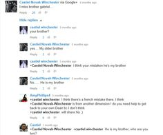 I saw the funniest in-character comments on Youtube!