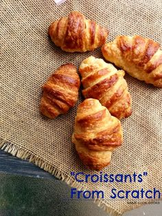 How to make Croissan