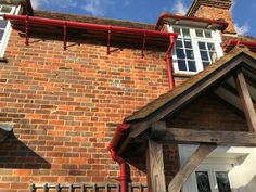 Chewrry Orchard Victorian and brick join. New Builds, Brick, Join, Victorian, Exterior, Building, Buildings, Bricks, Outdoor Rooms