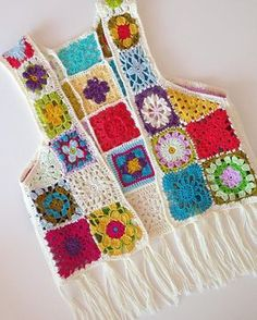 Knitting Patterns Coat Diwali special new latest design girls jacket Mamta easy Crochet Vest Pattern, Crochet Coat, Crochet Jacket, Crochet Clothes, Crochet Stitches, Knitting Patterns, Crochet Patterns, Knitting Projects, Crochet Projects