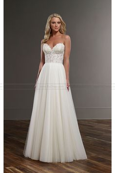 Martina Liana Flowing Wedding Dress Separates Style CELIA+SCOUT - Martina Liana - Wedding Brands