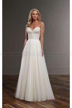 Martina Liana Flowing Wedding Dress Separates Style CELIA+SCOUT - Martina Liana - Wedding Brands