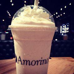 Vaniglia Bourbon del Madagascar - Frappe  w/ fresh Panna (Vanilla Milkshake w/ fresh whip cream) #amorino #gelato #nyc #usa