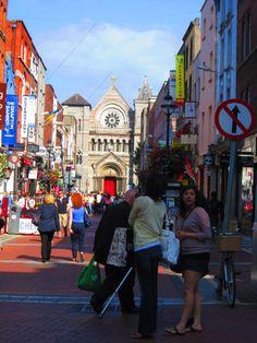 "Grafton Street, Dublin.  Can someone say ""shopping""?"
