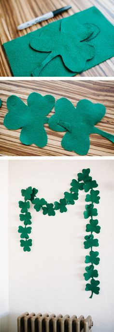 Easiest St. Patricks Day Garland | A Subltle Revelry