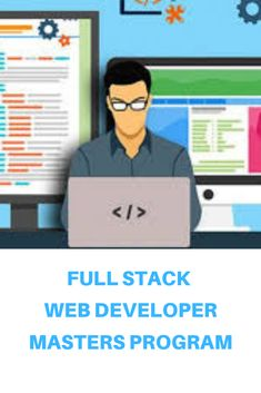 Full Stack Web Development Masters Program makes you proficient in skills to work with back-end and front-end web technologies. It includes training on Web Development, jQuery, Angular, NodeJS, ExpressJS and MongoDB. Online Masters Programs, Web Technology, Web Development, Programming, Knowledge, Family Guy, Training, Work Outs, Excercise