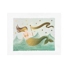 Sea Siren Art Print