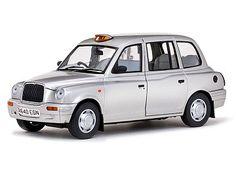 SunStar 1998 TX1 London Taxi Cab 1/18 Silver