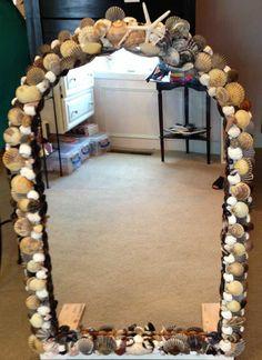 Custom made mirror, designed for donation to the 20th Anniversary Joe Cronin Fundraiser, 2013.