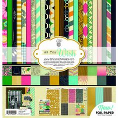 Fancy Pants Designs 2200 As You Wish Scrapbook Collection Kit -- For more information, visit image link.Note:It is affiliate link to Amazon. #commentplease