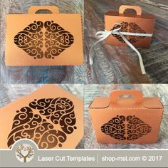 This laser cut gift box is ideal for a wedding or any event. Add this template to your product list or kick start a new range today. Wedding Gift Boxes, Wedding Gifts, Paper Box Template, Chocolate Box, Home Gifts, Laser Cutting, Wedding Designs, Place Card Holders, Templates