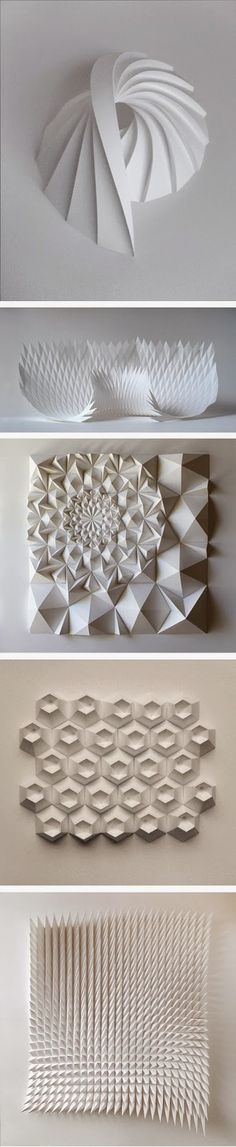 Paper sculpture Paper Art / Origami Art / Paper Sculptures :  More At FOSTERGINGER @ Pinterest