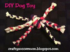 Crafty Soccer Mom: DIY Dog Toy