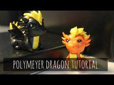 POLYMER CLAY DRAGON TUTORIAL - YouTube