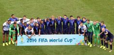 Netherlands' team pose for a group photo with their bronze medals after winning the third place play-off football match between Brazil and N. World Cup 2014, Fifa World Cup, Football Match, Bronze, Memes, Brazil, Sports, Third, Play