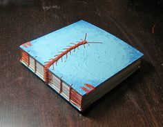 puritas essendi by tussenpozen, via Flickr - this woman makes amazing books