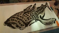 鯨鯊 whale shark WWW.FACEBOOK.COM/QUABITAT #quabitat #jccac723 #joeyleung #fish #fishy #ceramics #pottery #clay #art #work #exhibition #hk #hongkong #藝術 #陶芸 #陶瓷 #陶器 #陶土 #陶 #瓷 #香港魚盤 #梁祖彝 #水墨画 #水墨 #whale shark