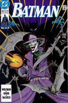 Batman #451 (Late July 1990) Cover Art by Norm Breyfogle, Story by Marv Wolfman