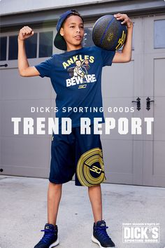 Kids' Top Trends: Take your kid from the classroom to the court in Under Armour Steph Curry looks.