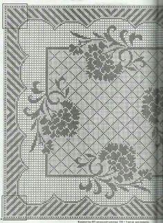 Filet crochet 4678