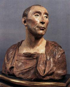 Donatello, Bust of Niccolò da Uzzano 1430s Polychrome terracotta, height 46 cm Museo Nazionale del Bargello, Florence