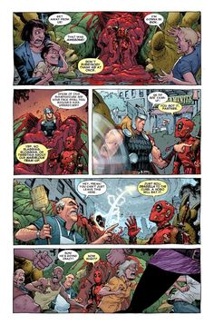 Duggan, Posehn & Moore's Plans for Deadpool: Beating Up Dead ...