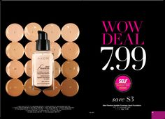 Ideal Flawless Invisible Coverage Liquid Foundation.  This is a WOW Deal in C4.