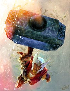 westcoastavengers: Thor by Daniel Scott Gabriel Murray