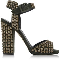 Giuseppe Zanotti Design Sandals ($475) ❤ liked on Polyvore