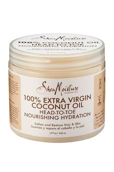 100% Extra Virgin Coconut Oil (15 oz) Head to Toe Nourishing Hydration | SheaMoisture.com has coconut oil now! No one really buys a lot of different oils at stores near me so I don't really trust the shelf life once it's home. I definitely love all my Shea Moisture products though so I want to give this a try!