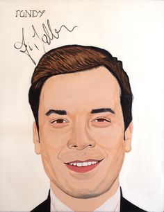 Autographed by Jimmy Fallon