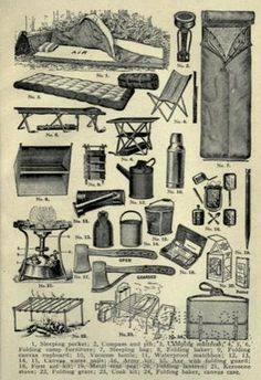 * Mungo Says Bah * Bushcraft Blog: Old Camping Resources - Free Online Books