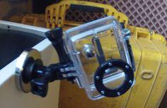 diy go pro magnetic car mount