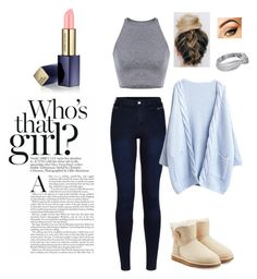 """""""❄ it's that time of the year """" by vuenatalie on Polyvore featuring UGG Australia, Urban Bliss and Estée Lauder"""