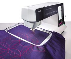 Do you to know how the Precise Positioning feature works? Here are step-by-step instructions to learn more. Sewing Hacks, Sewing Tips, Gents Fashion, Quilting Tools, Step By Step Instructions, Machine Embroidery Designs, Sewing Machines, Creative, Royal Blue