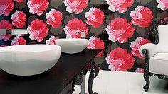 Flores y frutas en el baño. No te pierdas lo último en revestimientos cerámicos.