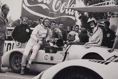 Steve McQueen on the gt40