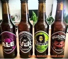 Love craft beer in funny bottles