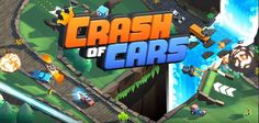 """Crash of Cars - uno spassoso """"racing multiplayer"""" da provare su iPhone o Android! Crash of Cars per Android e iPhone vi farà letteralmente impazzire ????  Un arcade a base di match multiplayer ricco di giocabilità e divertimento allo stato puro!  Scegliete la vostra automobilina  #android #iphone #auto #videogame #multi"""