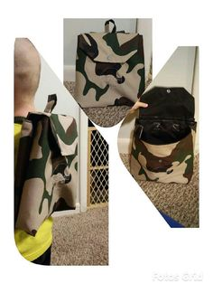 Check out this item in my Etsy shop https://www.etsy.com/listing/262423687/kids-tiny-camo-backpackday-pack