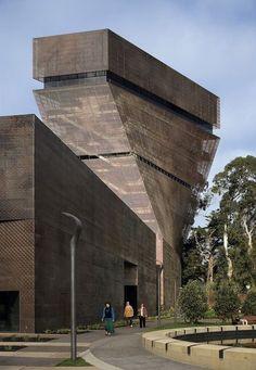 Museo De Young in San Francisco by Herzog & De Meuron