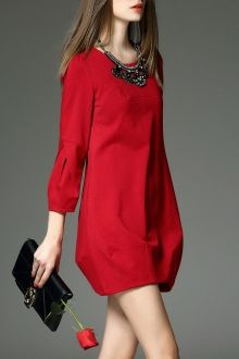 SHARE & Get it FREE | Lantern Sleeve A Line Work DressFor Fashion Lovers only:80,000+ Items • New Arrivals Daily • FREE SHIPPING Affordable Casual to Chic for Every Occasion Join Dezzal: Get YOUR $50 NOW!